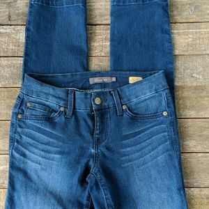 Anthropologie Level 99 Lily crop skinny jeans 25